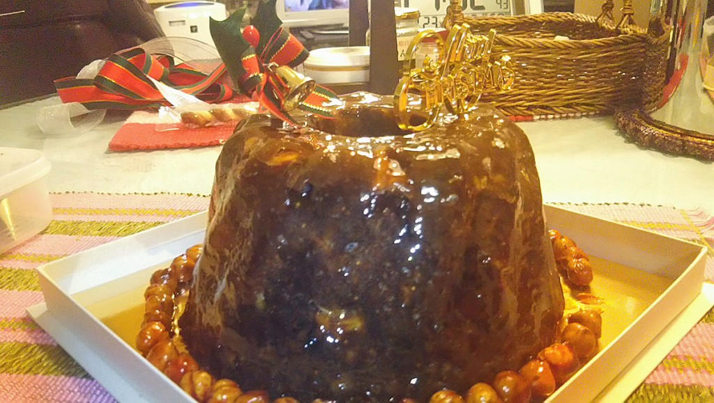 2015.12 Christmas Pudding